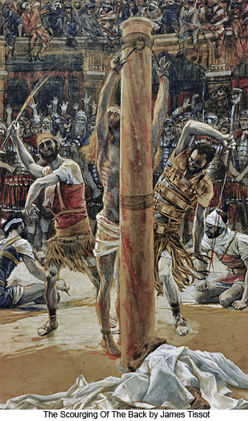James Tissot The Scourging Of The Back